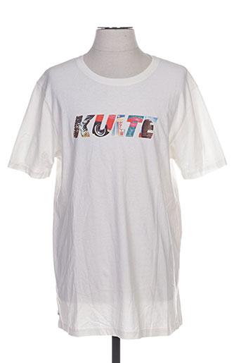 kulte t-shirts homme de couleur blanc