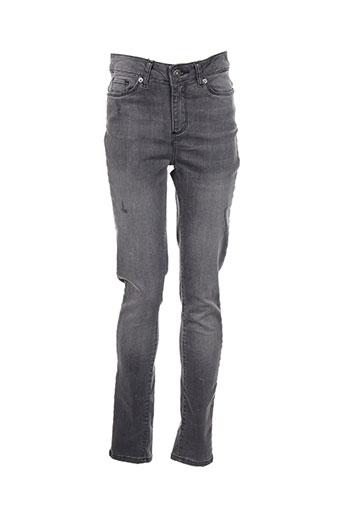 Jeans skinny gris VERO MODA pour femme
