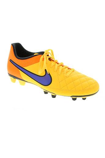 nike chaussures homme de couleur orange