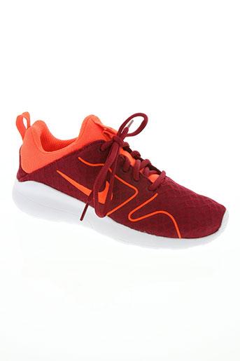 nike chaussures femme de couleur rouge