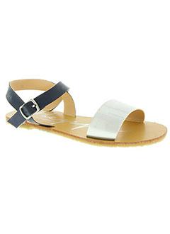 Sandales/Nu pieds gris BEPPI pour fille