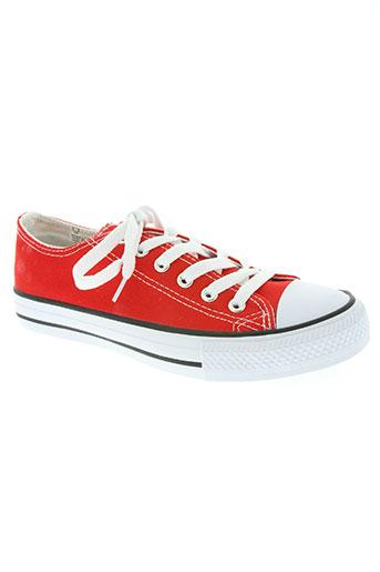 beppi chaussures unisexe de couleur rouge