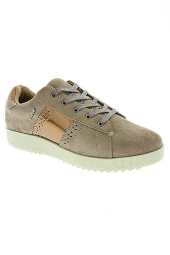 beppi chaussures fille de couleur marron