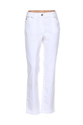 zerres jeans femme de couleur blanc
