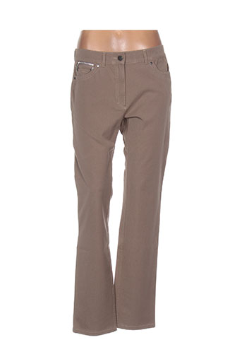 zerres jeans femme de couleur marron