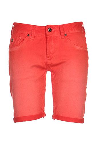 scotch shrunk shorts / bermudas fille de couleur orange