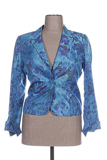 Veste chic / Blazer bleu ALOUETTE pour femme