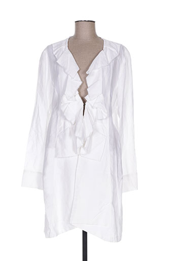 qubha vestes femme de couleur blanc