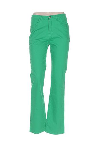 i.quing jeans femme de couleur vert