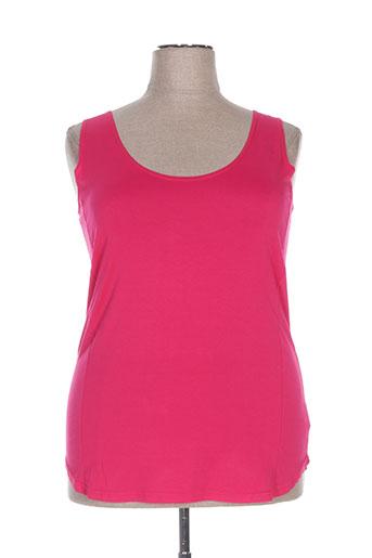 franck anna chemises femme de couleur rose