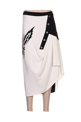 giani forte jupes femme de couleur blanc