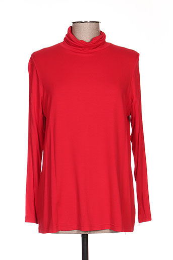 T-shirt manches longues rouge ALAIN WEIZ pour femme