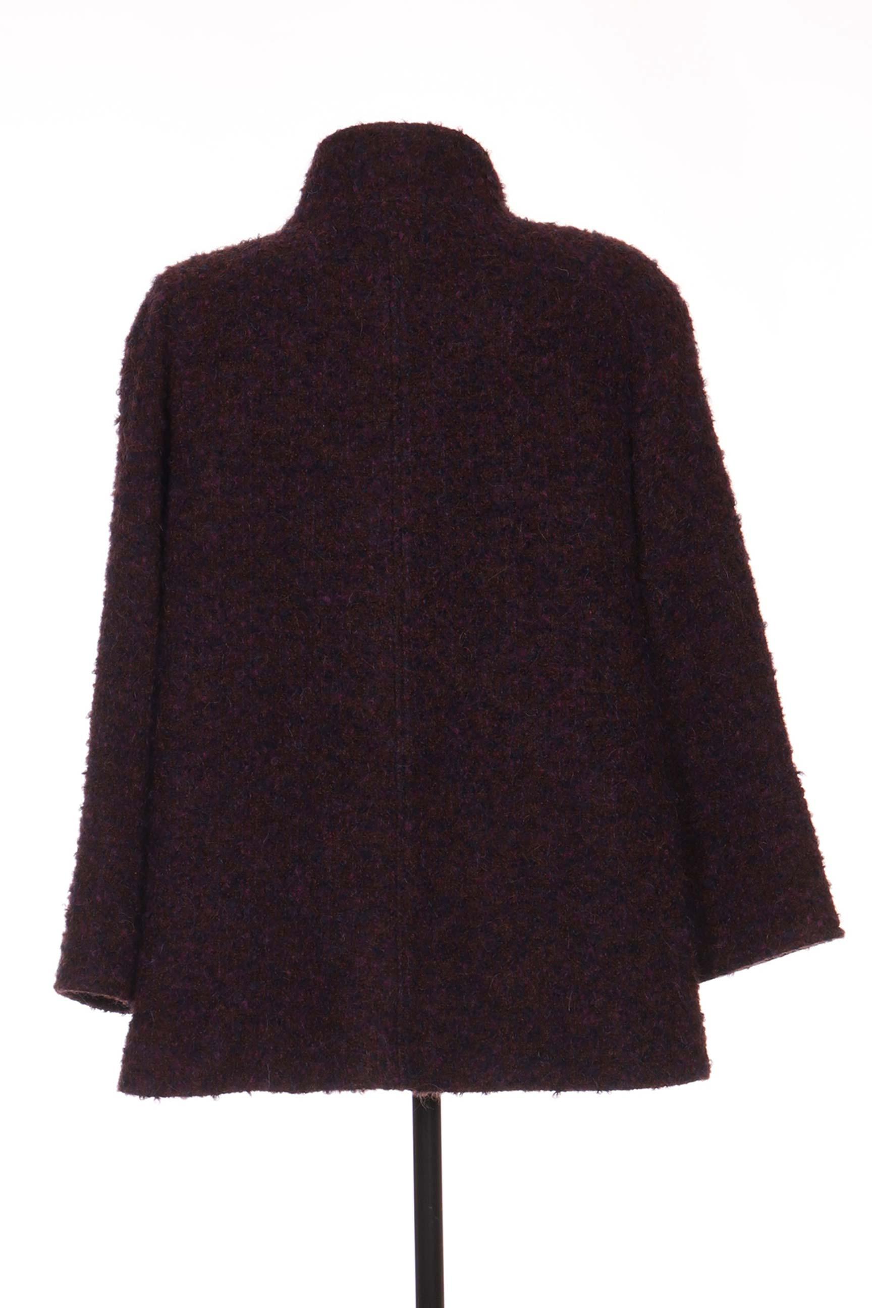 Berni By Anton Moda Manteaux Courts Femme De Couleur Violet En Soldes Pas Cher 1181624-violet