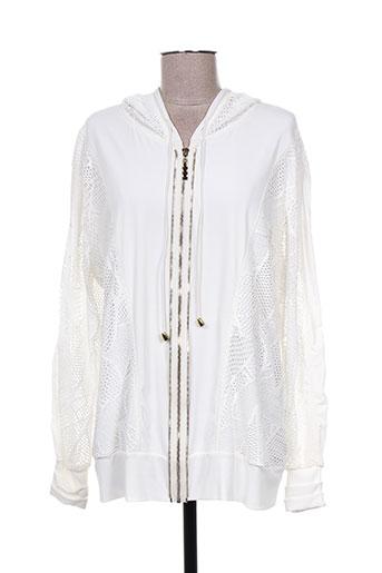giani forte vestes femme de couleur blanc
