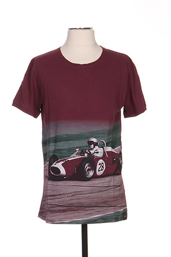 pull in t-shirts homme de couleur rouge
