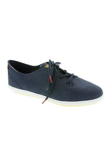 lafeyt chaussures femme de couleur bleu