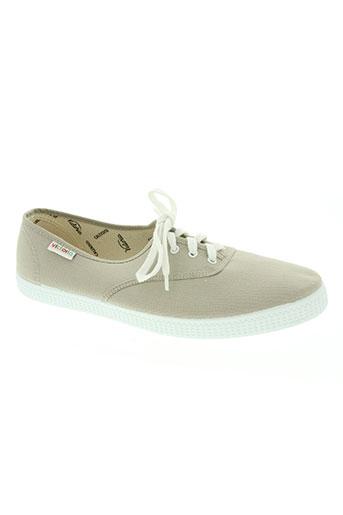 victoria chaussures unisexe de couleur beige
