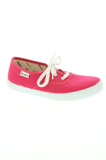 victoria chaussures fille de couleur rose