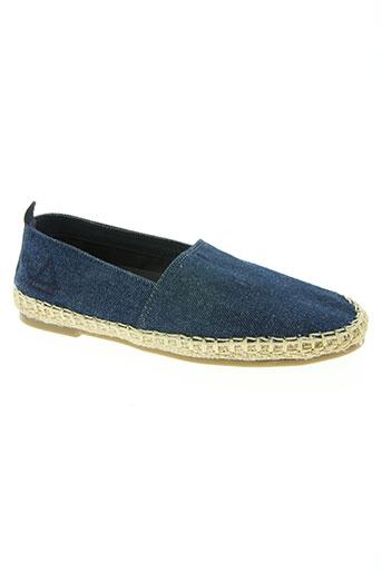 eleven paris chaussures garçon de couleur bleu