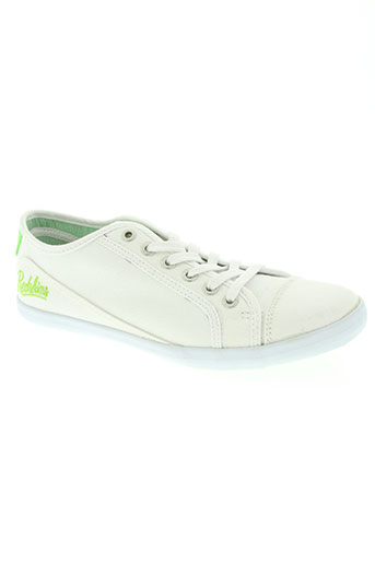 redskins chaussures garçon de couleur blanc