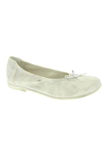 bellamica chaussures fille de couleur gris