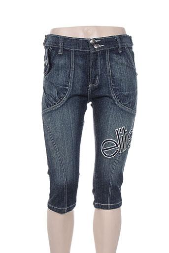 elite shorts / bermudas femme de couleur bleu