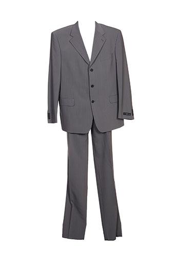 Costume de ville gris MOBIL ELASTO pour homme