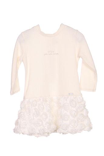 Robe courte blanc ABSORBA pour fille