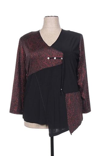 lady belle chemises femme de couleur noir