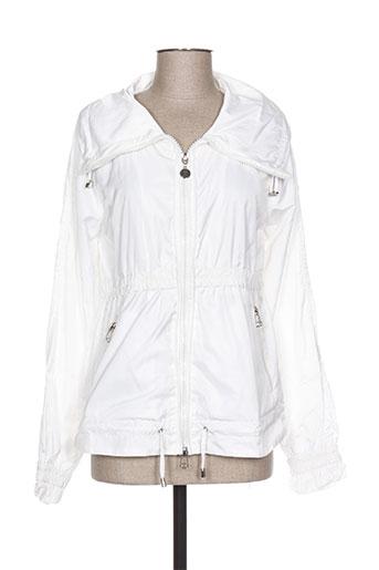 sidecar manteaux femme de couleur blanc