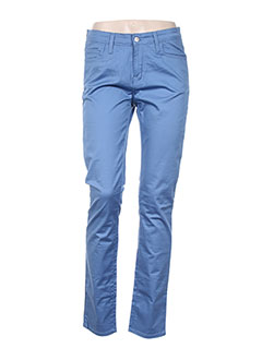 Pantalon casual bleu CARHARTT pour femme