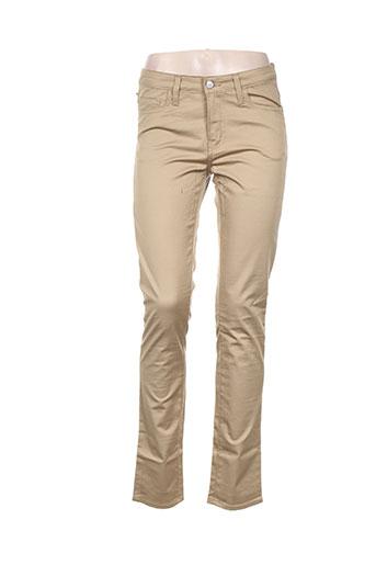 Pantalon casual beige CARHARTT pour femme