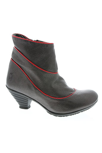 fly london chaussures femme de couleur marron