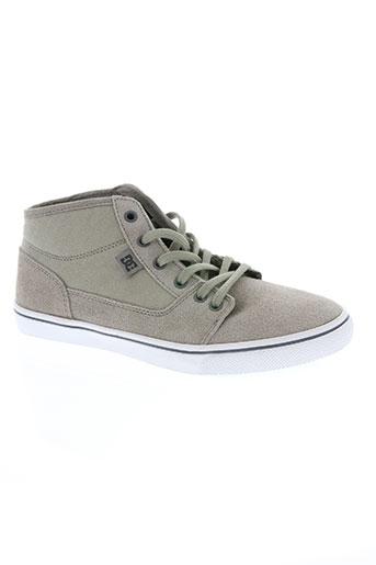 dc chaussures femme de couleur gris