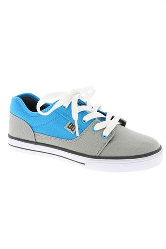 dc chaussures garçon de couleur gris