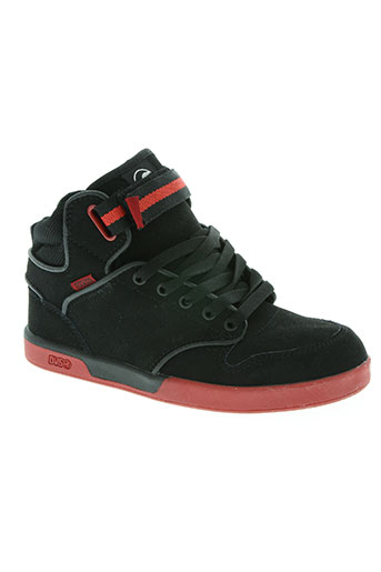 dvs chaussures garçon de couleur noir