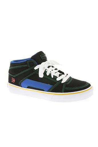 etnies chaussures homme de couleur noir