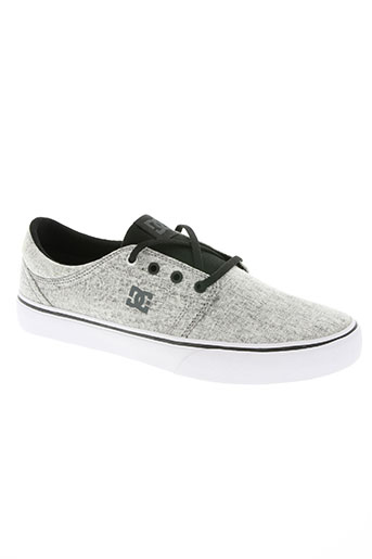 dc chaussures homme de couleur gris