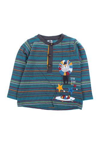 tuc tuc t-shirts garçon de couleur bleu