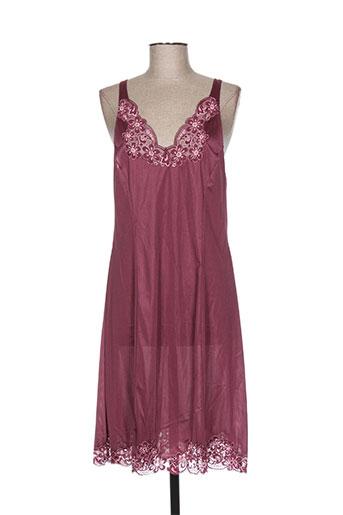 lingerie elizabeth jupes femme de couleur violet