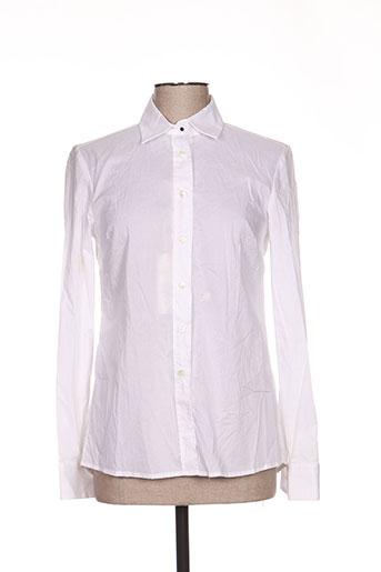 cerruti 1881 chemises femme de couleur blanc