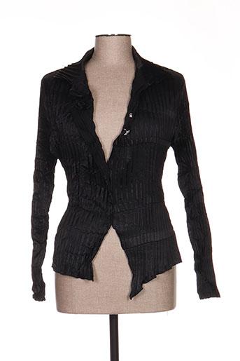 leïko chemises femme de couleur noir