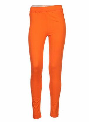 Legging orange CARINE pour femme