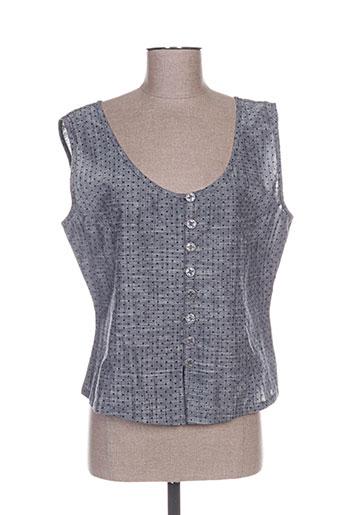 les piplett's chemises femme de couleur gris