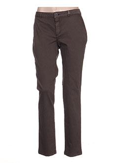 Pantalon casual gris ESE O ESE pour femme