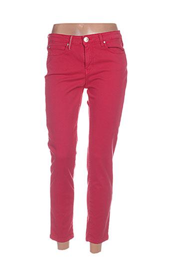 Pantalon casual rouge ISLOW pour femme