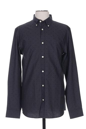 premium chemises homme de couleur gris