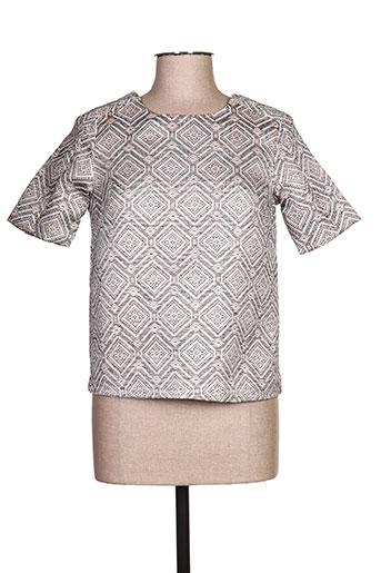 lucy & co t-shirts femme de couleur marron