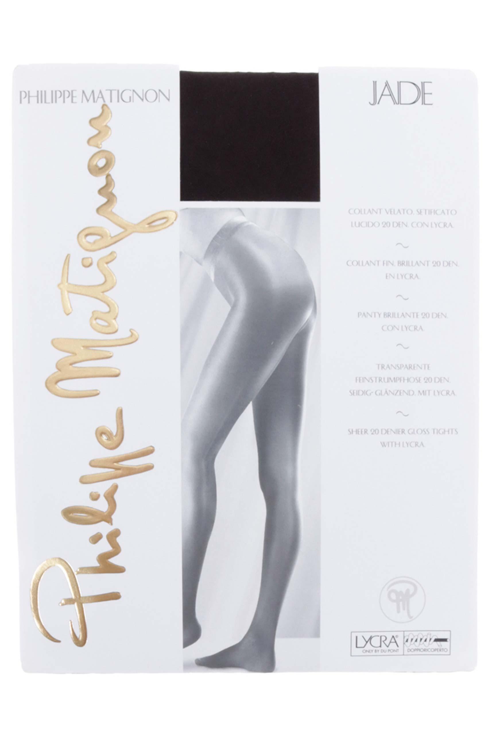 Philippe Matignon Collant Femme De Couleur Marron En Soldes Pas Cher ... 7d9e4b485f7