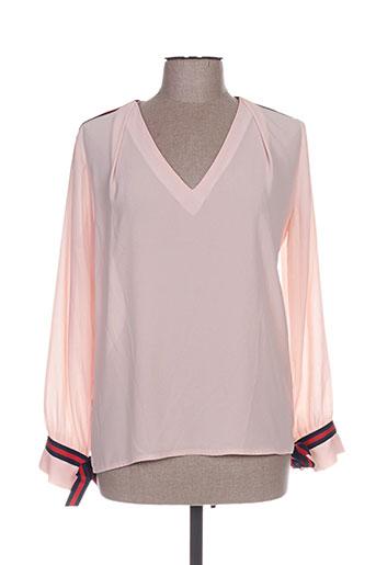 vintage love chemises femme de couleur rose